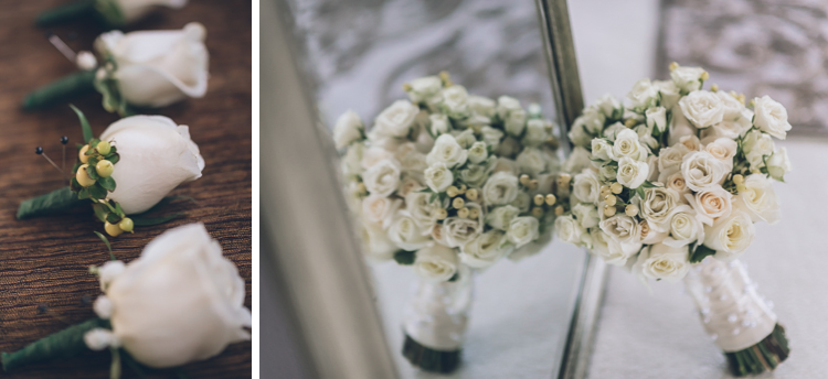 Tara and Dom wedding flowers at Crystal Ballroom, NJ photography by NY NJ Wedding Photographers Pearl Paper Studio.