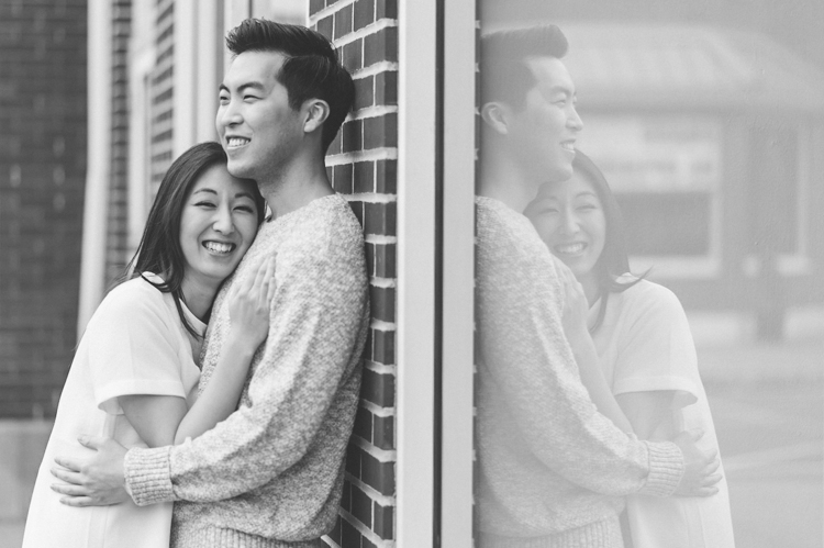 Veronica and Shawn cute and whimsical spring Piermont, NY Engagement photography by NY NJ Wedding Photographers Pearl Paper Studio.