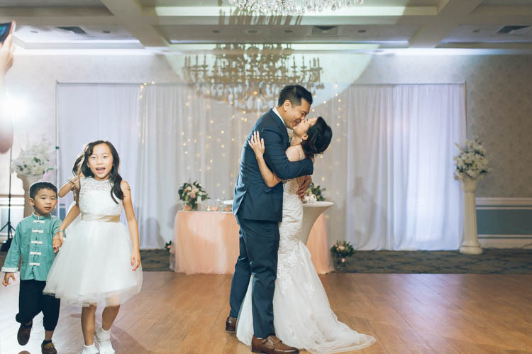 Crystal Ballroom Freehold NJ Wedding of Christina and Steven this Summer, but first as most Chinese couples' do started the day with fun door games. Love photographing Christina and Steven's genuine smiles towards each other, the way Steven looks at Christina. Capturing their love story and their wedding day unfolding in front of our cameras! Christina and Steven's Crystal Ballroom Wedding captured by Steve from Pearl Paper Studio. We are New Jersey, New York and Long Island wedding photographers and our passion is to photograph fun, warm and energetic couples on their wedding day. We love to hear about your wedding day, and we would be thrilled to be part of it.