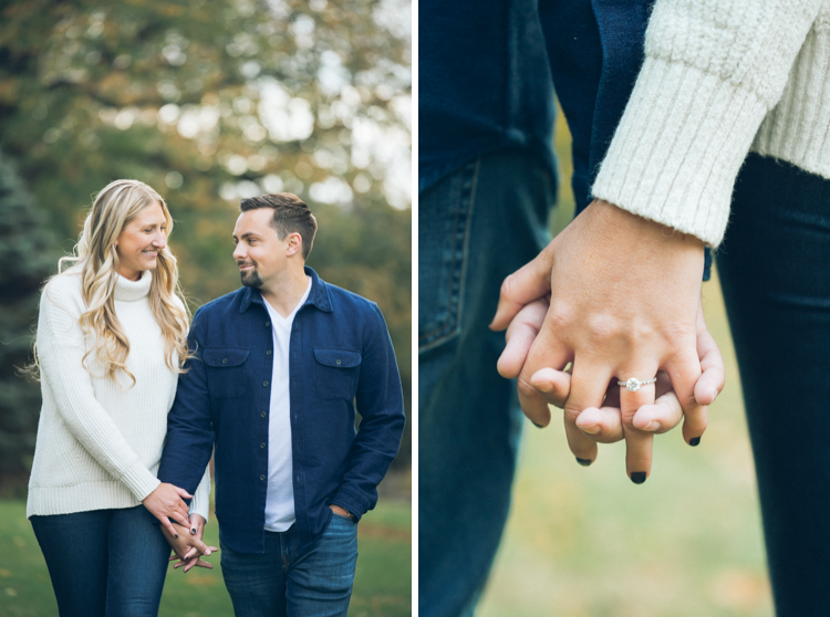 New Jersey Botanical Garden is one of our favorite spot for an engagement for versatile options of different backdrops all at one location. We met Amanda and Michael at New Jersey Botanical Garden for their October engagement session. Amanda wore a flannel shawl which was perfect for the chilly October weather outdoors. Amanda and Michael engagement NJ Botanical Garden captured by Steve from Pearl Paper Studio. Pearl Paper Studio wedding photography studio covering New Jersey, New York and Long Island brides and our passion is to photograph fun, warm and energetic couples on their very special wedding day.