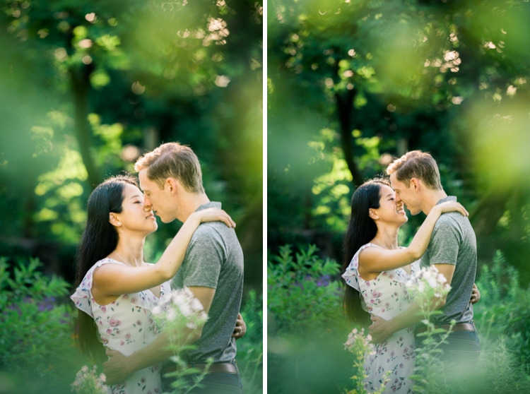 We are back at our favorite garden, Cross Estate Gardens in Bernardsville NJ containing both formal and native plants with Anna and Adam for their summer engagement session. Anna and Adam were the cutest and sweetest during their session at Cross Estate Gardens walking around it's romantic property captured by Steve from Pearl Paper Studio. Pearl Paper Studio is here to capture real emotions, fun couples with non-traditional wedding stories, we are currently booking fall 2020 and 2021 weddings in New Jersey, New York and Long Island. Until we meet again please be safe and healthy during this strange time called COVID-19