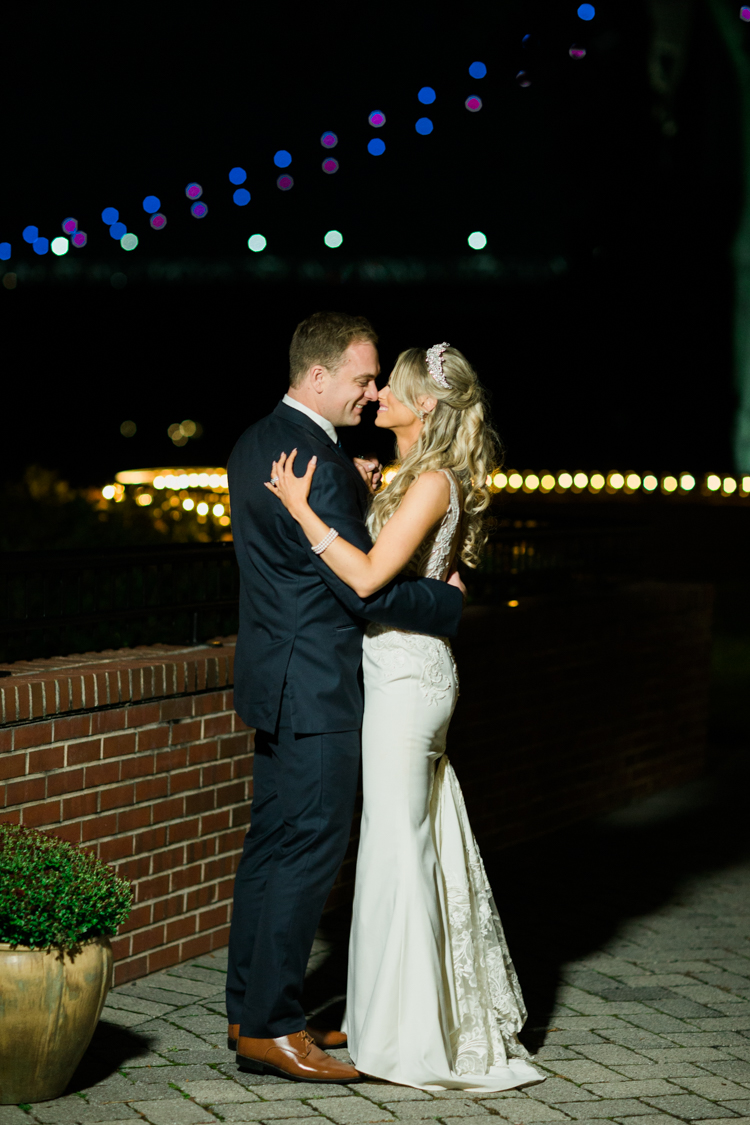 The GrandviewPoughkeepsie, NY sits on forty feet above the water's edge, on the Eastern bank of the Hudson River, in the shadow of the Mid-Hudson Bridge. It truly has spectacular view during the night. Kristen and Anthony